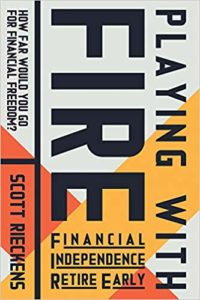 Illustrating the cover of the playing with FIRE book