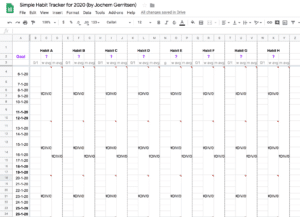 Illustrating the Simple Habit Tracker